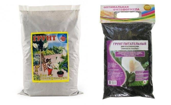 Правильно подобранный грунт — важное условие для выращивания роскошного спатифиллума
