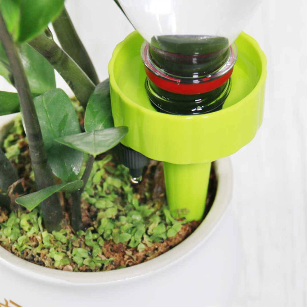 Как сделать капельный полив для комнатных растений
