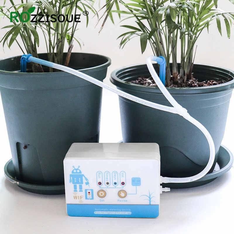 Полив, опрыскивание и мойка домашних растений