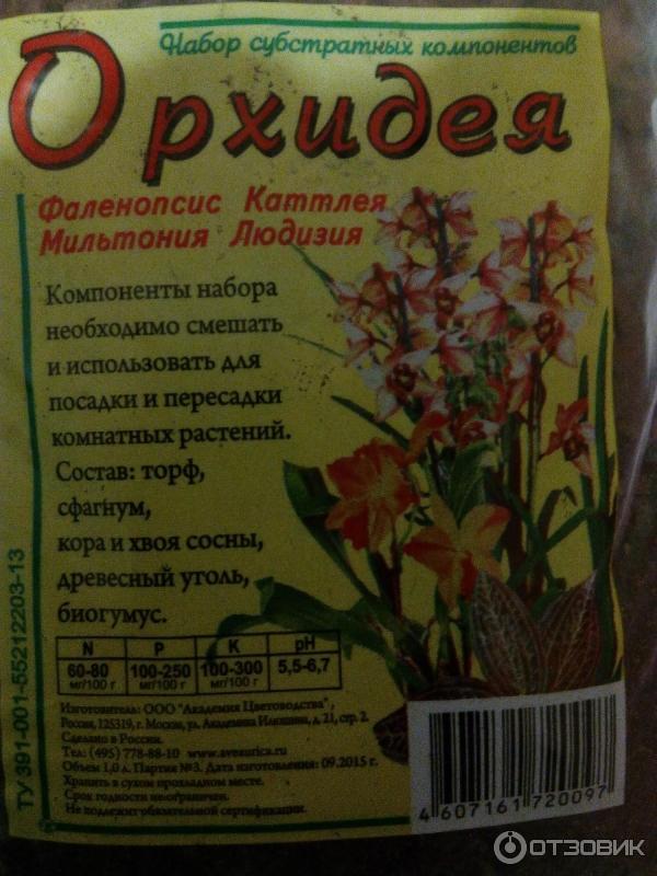 Состав грунта для орхидей - делаем своими руками в домашних условиях