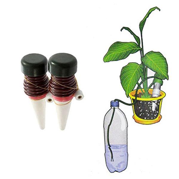 Как сделать капельный полив комнатных растений? | kucher's life