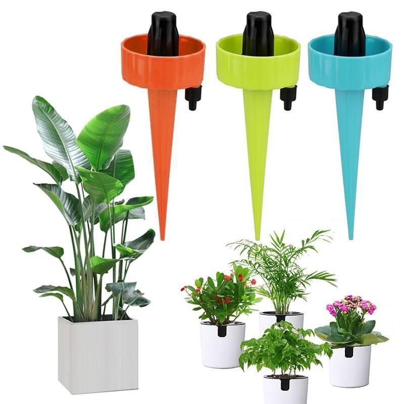 О изготовлении капельного полива для комнатных растений, домашних цветов
